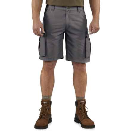 Carhartt Rugged Cargo Shorts - Factory Seconds (For Men) in Gravel - 2nds