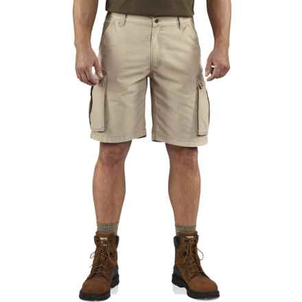 Carhartt Rugged Cargo Shorts - Factory Seconds (For Men) in Tan - 2nds
