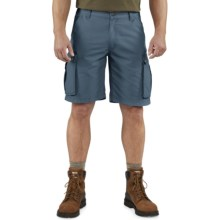 Carhartt Rugged Cargo Shorts (For Men) in Bluestone - 2nds