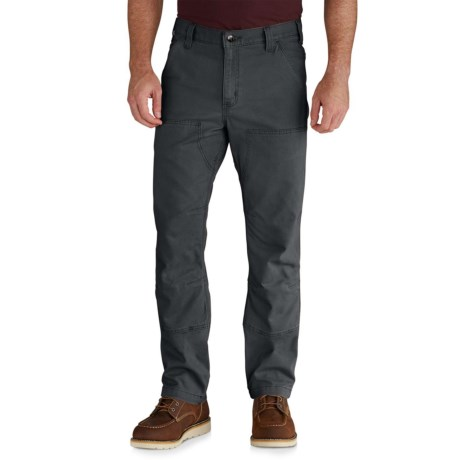 Carhartt Rugged Flex® Rigby Double-Front Pants - Factory Seconds (For Men) in Shadow