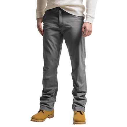 Carhartt Rugged Flex® Rigby Dungaree Pants - Factory Seconds (For Men) in Gravel - 2nds