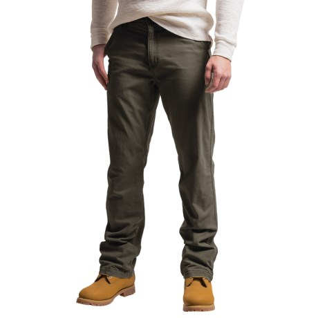 Carhartt Rugged Flex® Rigby Dungaree Pants - Factory Seconds (For Men) in Peat