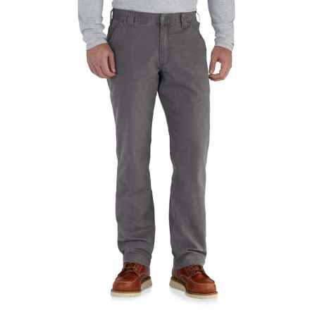 Carhartt Rugged Flex® Rigby Dungarees - Relaxed Fit, Factory Seconds (For Men) in Gravel - 2nds
