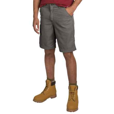 Carhartt Rugged Flex® Rigby Shorts - Relaxed Fit, Factory Seconds (For Men) in Gravel - 2nds