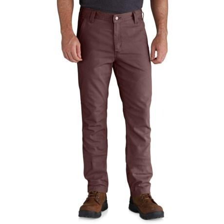 Carhartt Rugged Flex® Rigby Straight Fit Pants - Factory Seconds (For Men) in Dark Cedar