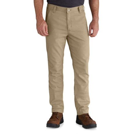 Carhartt Rugged Flex® Rigby Straight Fit Pants - Factory Seconds (For Men) in Dark Khaki