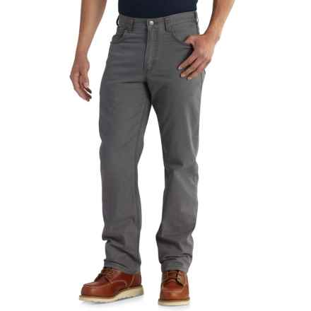 Carhartt Rugged Flex® Rigby Work Pants - Relaxed Fit, Straight Leg, Factory Seconds (For Men) in Gravel - 2nds