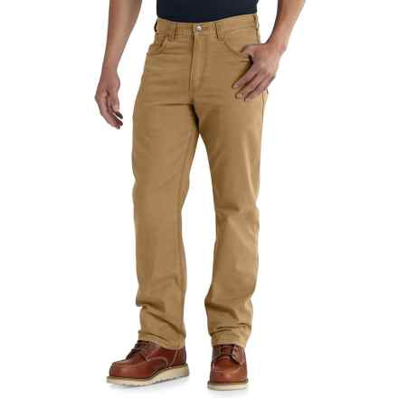 Carhartt Rugged Flex® Rigby Work Pants - Relaxed Fit, Straight Leg, Factory Seconds (For Men) in Hickory - 2nds