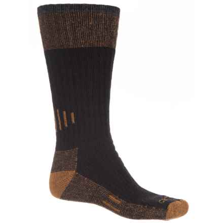 Carhartt Rugged Outdoors Hunting Boot Socks - Over the Calf (For Men) in Black - Closeouts