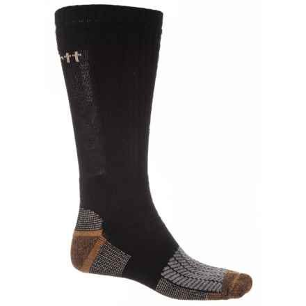 Carhartt Rugged Outdoors Ultimate Outdoor Socks - Crew (For Men) in Black - Closeouts