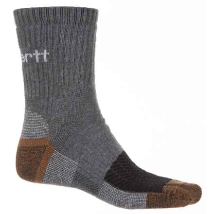 Carhartt Rugged Outdoors Ultimate Outdoor Socks - Quarter Crew (For Men) in Grey - Closeouts