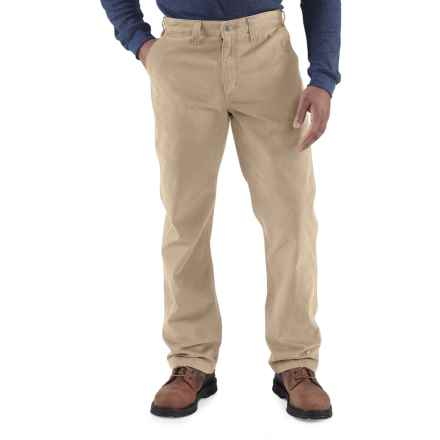 Carhartt Rugged Work Khaki Pants - Cotton Twill, Factory Seconds (For Men) in Field Khaki - 2nds