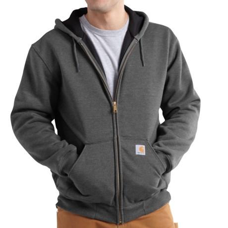 Image of Carhartt Rutland Thermal-Lined Hooded Sweatshirt - Full Zip, Factory Seconds (For Men)