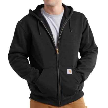 Carhartt Rutland Thermal-Lined Hooded Sweatshirt - Full Zip (For Men) in Black - 2nds