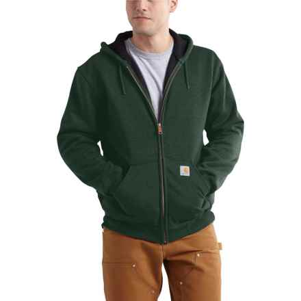 Carhartt Rutland Thermal-Lined Hooded Sweatshirt - Full Zip (For Men) in Canopy Green - 2nds