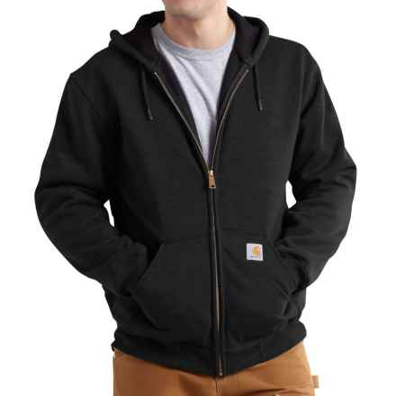 Carhartt Rutland Thermal-Lined Hoodie - Full Zip, Factory Seconds (For Men) in Black - 2nds