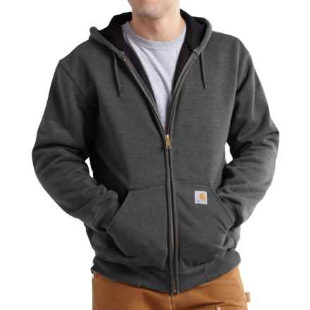 Carhartt Rutland Thermal-Lined Hoodie - Full Zip, Factory Seconds (For Men) in Carbon Heather - 2nds