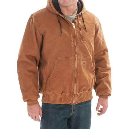 Carhartt Sandstone Active Jacket - Factory Seconds (For Men) in Carhartt Brown - 2nds