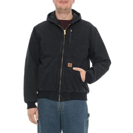 f5675c8c0f9 Carhartt Sandstone Active Jacket - Flannel Lined, Factory Seconds (For Big  and Tall Men
