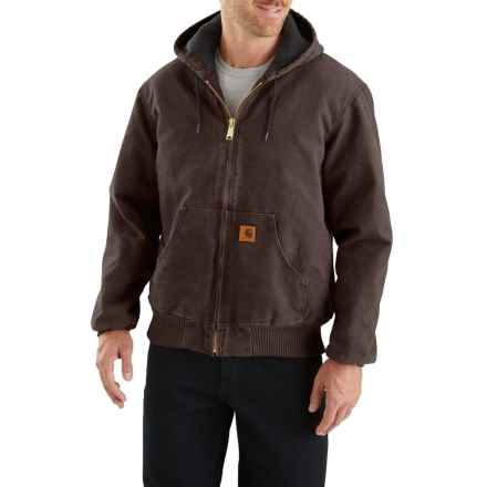 a954d0e3 Carhartt Sandstone Active Jacket - Insulated, Factory Seconds (For Men) in  Dark Brown