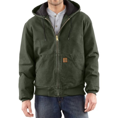 Image of Carhartt Sandstone Active Jacket - Washed Duck, Factory Seconds (For Big Men)