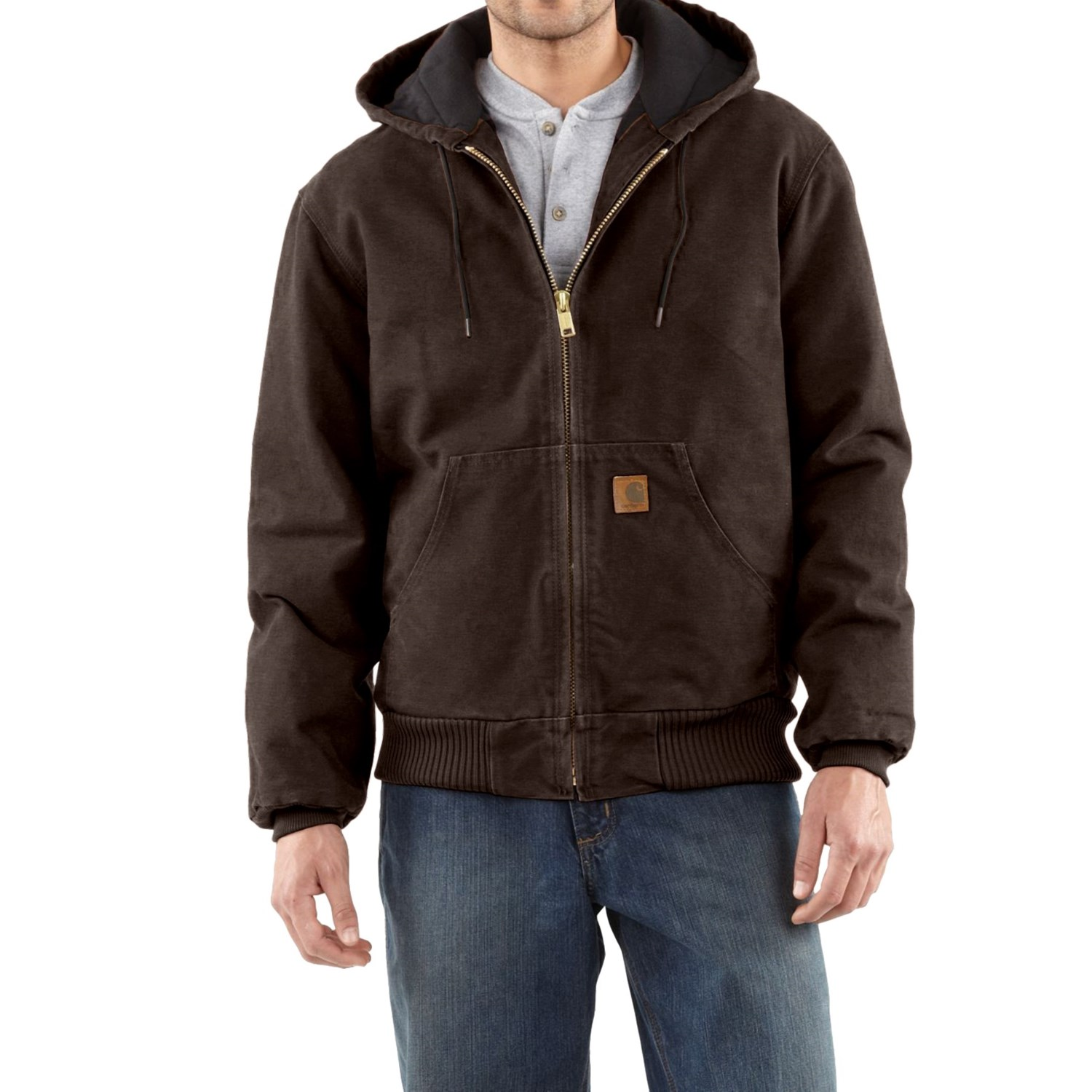 Carhartt Sandstone Active Jacket For Men
