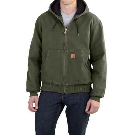 Carhartt Sandstone Active Jacket - Washed Duck, Factory Seconds (For Men) in Moss - 2nds