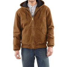 Carhartt Sandstone Active Jacket - Washed Duck (For Men) in Carhartt Brown - 2nds