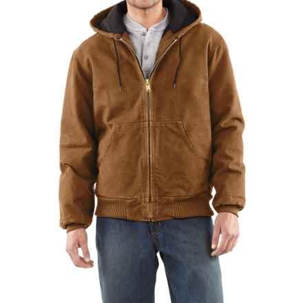 Carhartt Sandstone Active Jacket - Washed Duck (For Men) in Carhartt Brown - 2nds