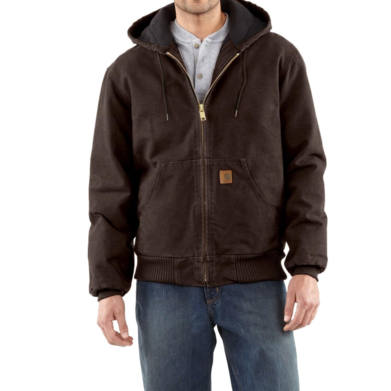 carhartt sandstone active jacket for