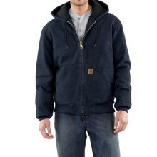 Carhartt Sandstone Active Jacket - Washed Duck (For Men) in Midnight - 2nds