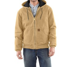Carhartt Sandstone Active Jacket - Washed Duck (For Men) in Wheat - 2nds