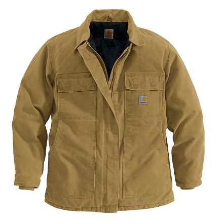 Carhartt Sandstone Arctic Coat - Traditional (For Women) in Camel - 2nds