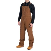 Carhartt Sandstone Bib Overalls - Unlined (For Men) in Carhartt Brown - 2nds
