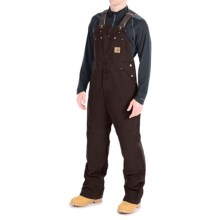 Carhartt Sandstone Bib Overalls - Unlined (For Men) in Dark Brown - 2nds