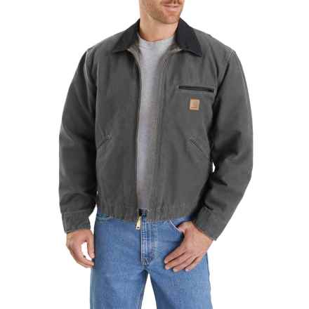 d3b57a5a Carhartt Sandstone Detroit Jacket - Blanket Lined (For Big and Tall Men) in  Gravel