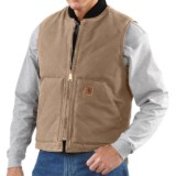 Carhartt Sandstone Duck Vest - Insulated (For Men)