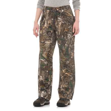 Carhartt Sandstone Dungaree Pants - Relaxed Fit, Factory Seconds (For Women) in Realtree Xtra - 2nds