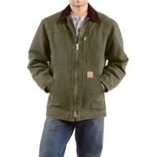 Carhartt Sandstone Ridge Coat (For Big Men) in Army Green - 2nds