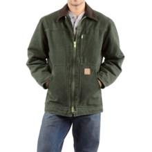 Carhartt Sandstone Ridge Coat (For Big Men) in Moss - 2nds