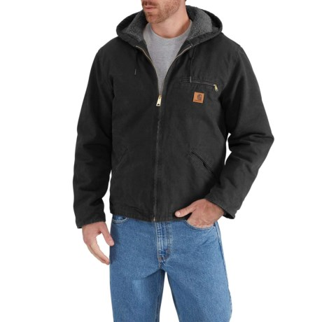 b08c9d151db Carhartt Sandstone Sierra Jacket - Factory Seconds (For Big and Tall Men)  in Black