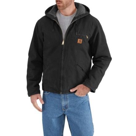e979f7ae926fb Carhartt Sandstone Sierra Jacket - Factory Seconds (For Men) in Black - 2nds