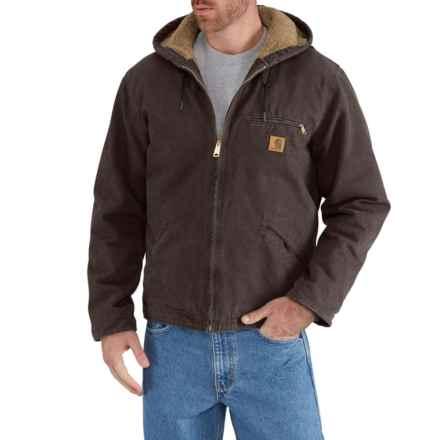 Carhartt Sandstone Sierra Jacket - Factory Seconds (For Men) in Dark Brown - 2nds