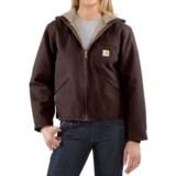 Carhartt Sandstone Sierra Jacket - Sherpa Lined, Factory Seconds (For Women)