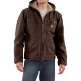 Carhartt Sandstone Sierra Jacket - Sherpa Lining, Factory Seconds (For Big Men)
