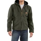 Carhartt Sandstone Sierra Jacket - Sherpa Pile, Factory Seconds (For Tall Men)