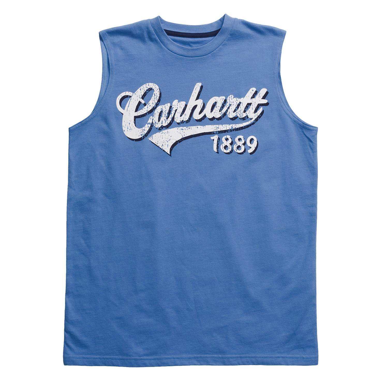 Carhartt script graphic t shirt sleeveless for boys for Sleeveless graphic t shirts
