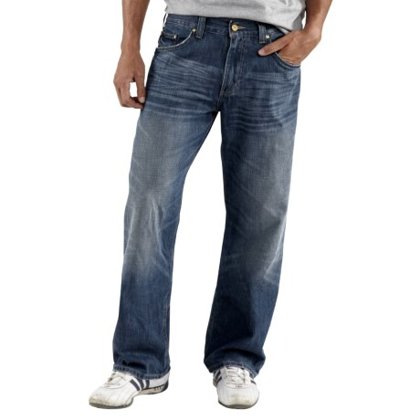 Carhartt Series 1889 Jeans - Loose Fit, Straight Leg (For Men) in Medium Worn