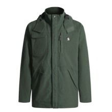 Carhartt Shoreline Nylon Coat with Hood - Waterproof (For Men) in Evergreen - 2nds
