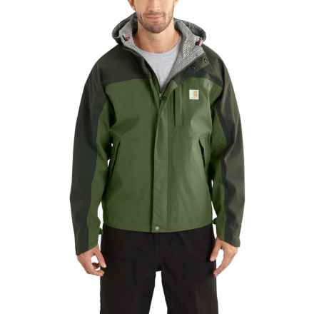 Carhartt Shoreline Vapor Jacket - Waterproof, Factory Seconds (For Men) in Bronze Green/Olive - 2nds